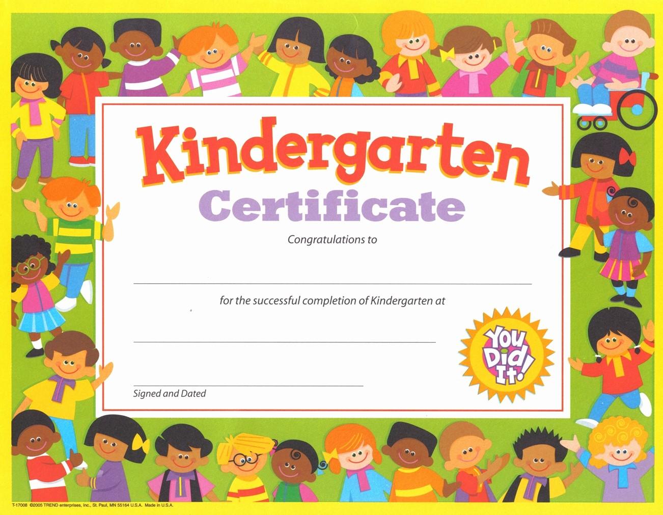 Free Printable Kindergarten Certificate Templates Best Of Gospel Kindergarten Justin Buzzard