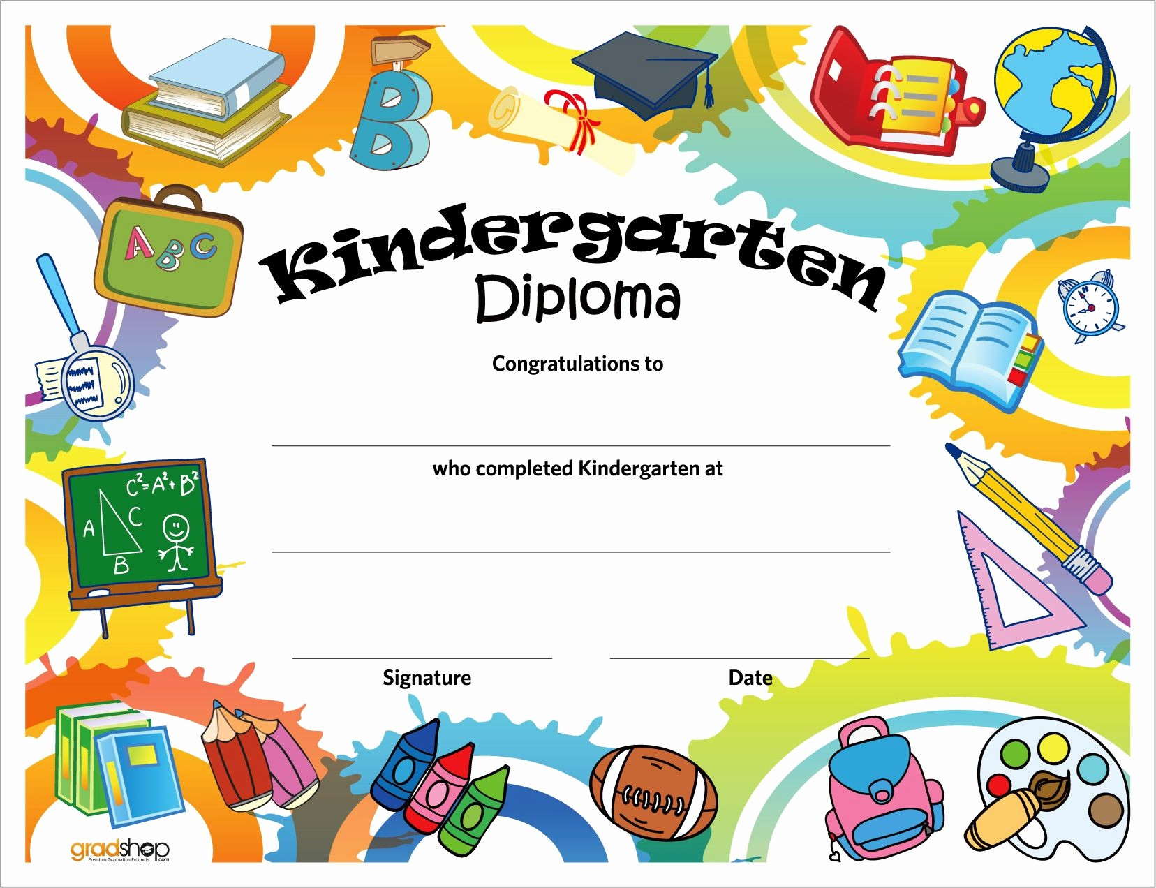 Free Printable Kindergarten Certificate Templates Inspirational Marcos Y Bordes Escolares Buscar Con Google