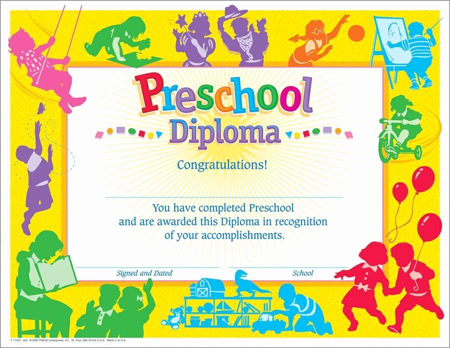 Free Printable Kindergarten Certificate Templates New 9 Best Of Printable Preschool Certificates and