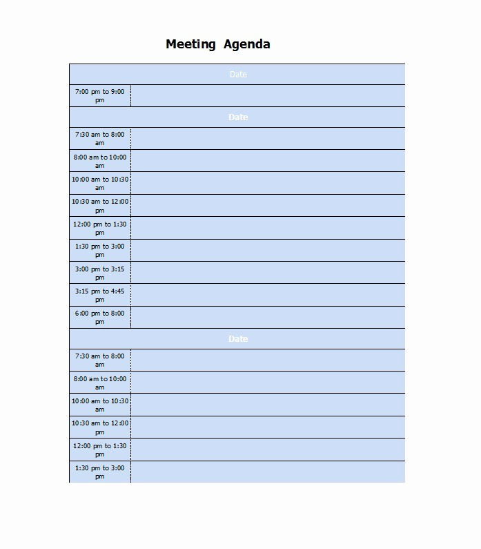 Free Printable Meeting Minutes Template Beautiful 46 Effective Meeting Agenda Templates Template Lab