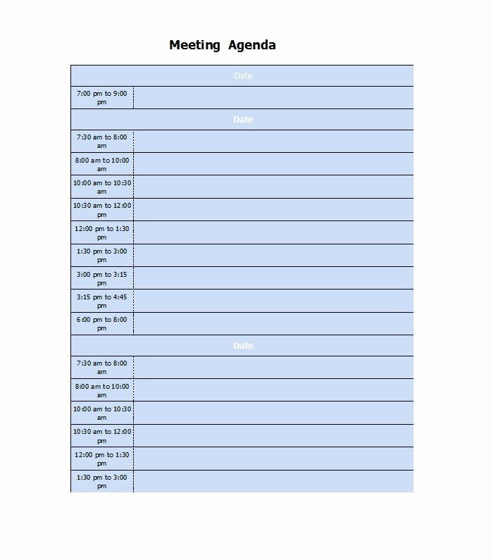 Free Printable Meeting Minutes Template Beautiful 46 Effective Meeting Agenda Templates Template Lab
