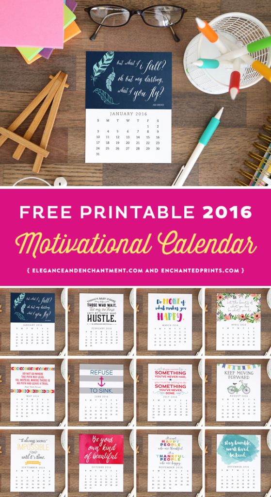 Free Printable Monthly 2016 Calendars Fresh Free Printable 2016 Calendar