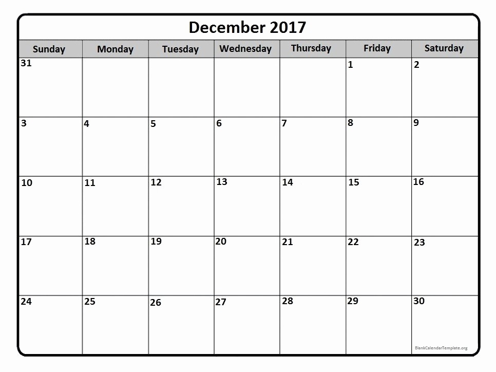 Free Printable Monthly 2017 Calendar Awesome December 2017 Calendar December 2017 Calendar Printable