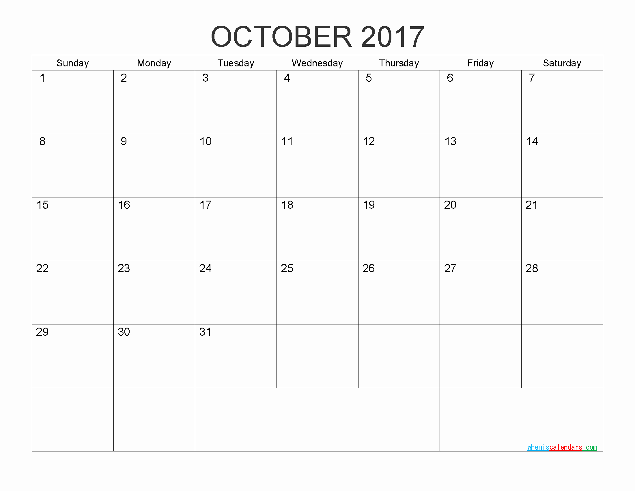 Free Printable Monthly 2017 Calendar Unique Free Printable Calendar 2017 Monthly Calendar by Pdf