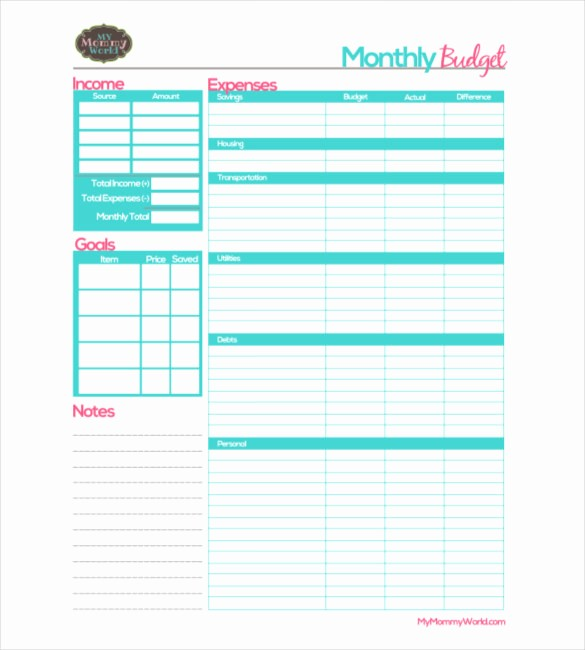 Free Printable Monthly Budget Template Beautiful Monthly Bud Worksheets Free Printable Breadandhearth