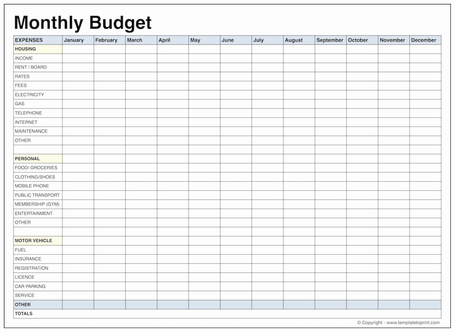 Free Printable Monthly Budget Template Best Of Blank Monthly Bud Template Pdf Samplebusinessresume