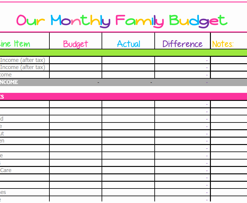 Free Printable Monthly Budget Template Unique Bud Templates What Mommy Does
