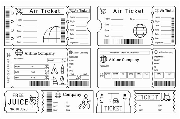Free Printable Movie Tickets Template Lovely 115 Ticket Templates Word Excel Pdf Psd Eps