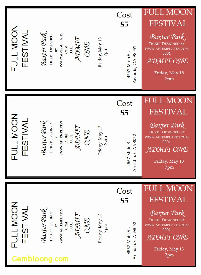 Free Printable Movie Tickets Template Lovely 14 Cinema Tickets Template Steamtraaleren Borgenes