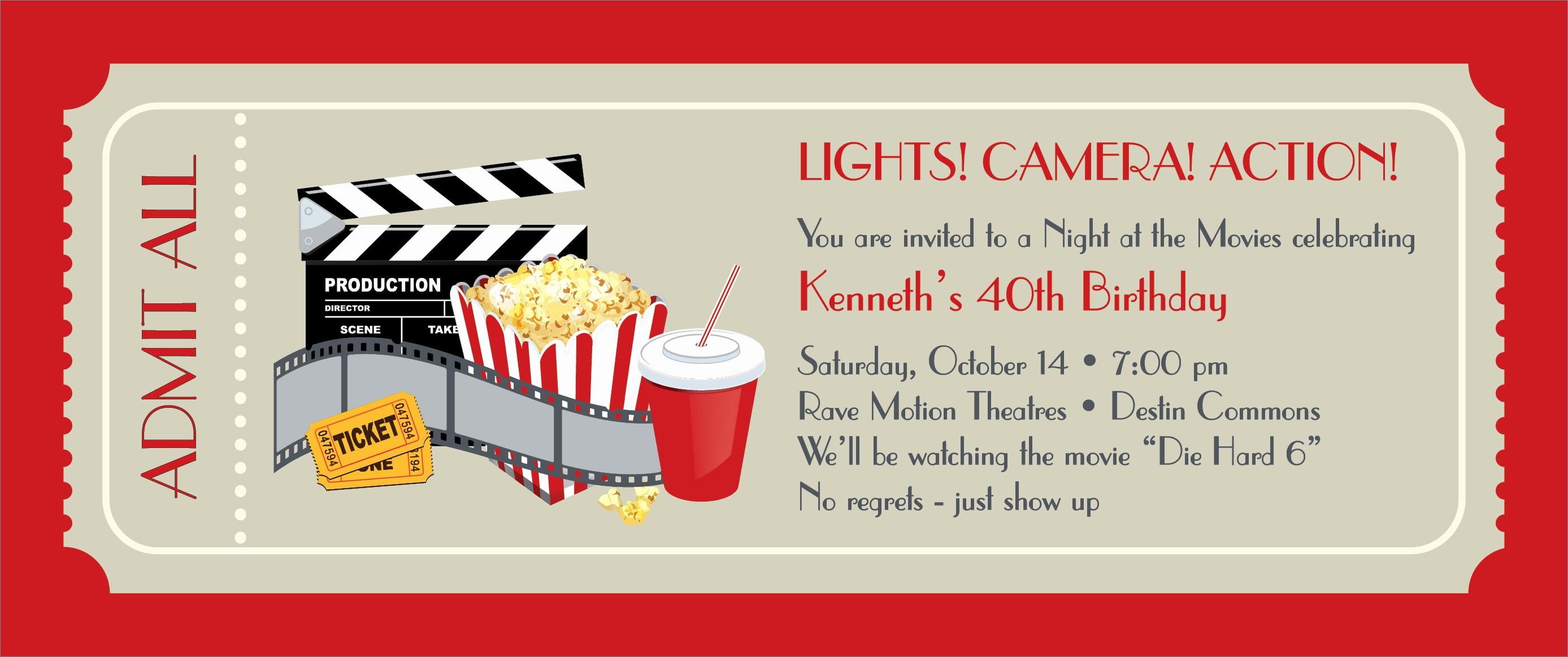 Free Printable Movie Tickets Template Luxury Movie Ticket Template