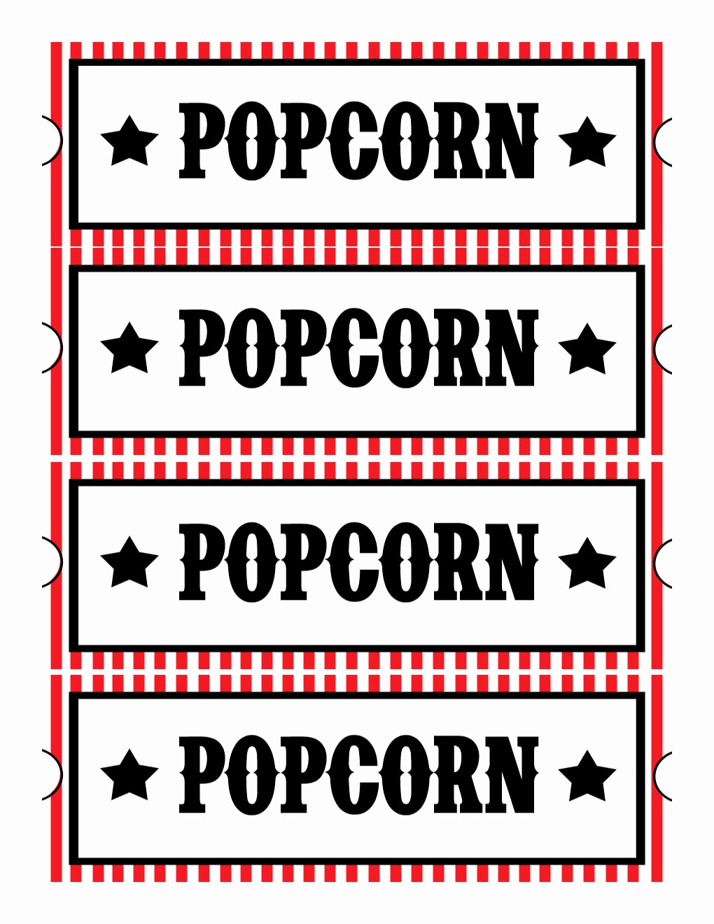 Free Printable Movie Tickets Template Unique Sweet Daisy Designs Free Printables Home Movie theatre Night