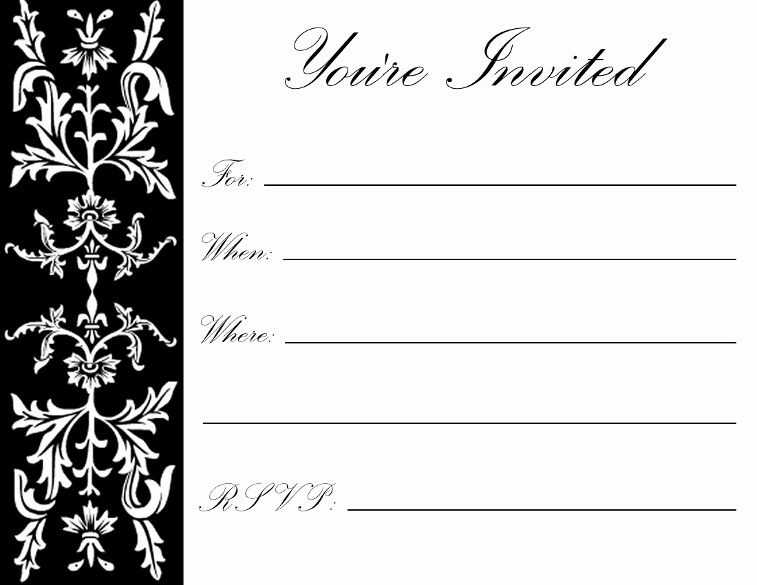 Free Printable Party Invitations Templates Awesome Free Printable 70th Birthday Party Invitations