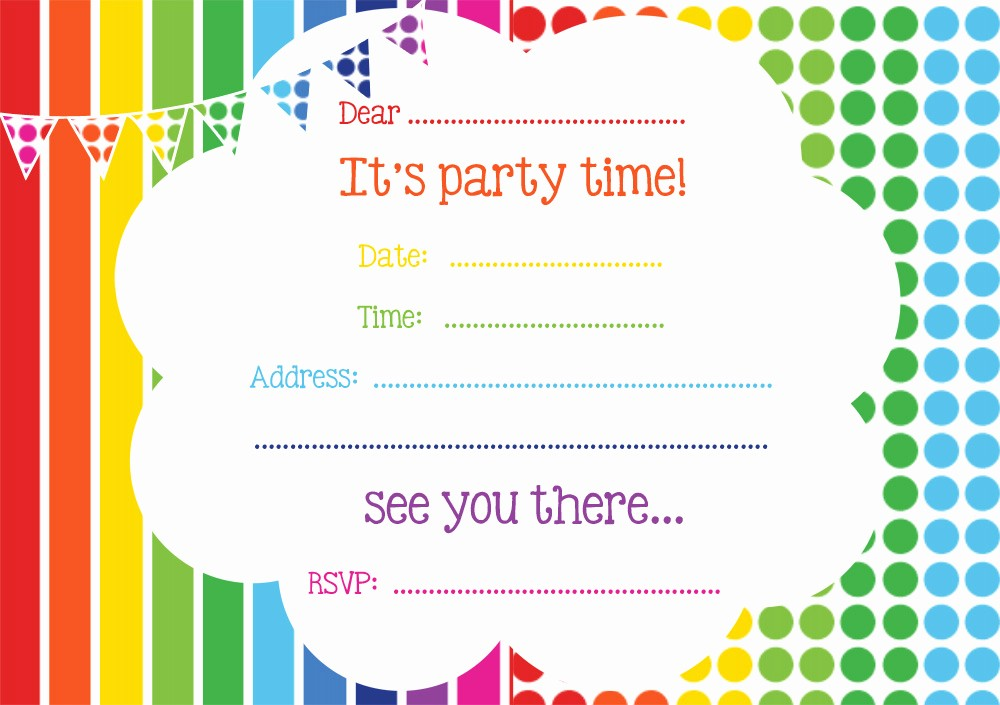 Free Printable Party Invitations Templates Elegant Free Printable Birthday Invitations Line – Free