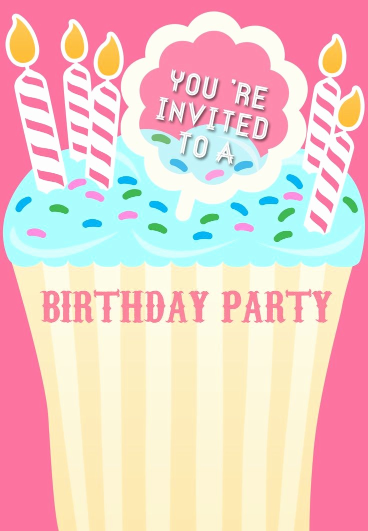 Free Printable Party Invitations Templates Fresh 1000 Ideas About Free Printable Birthday Invitations On