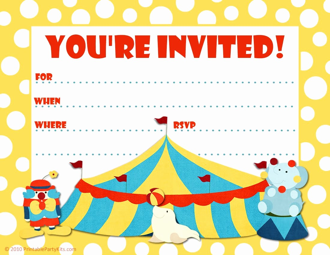 Free Printable Party Invitations Templates Fresh Printable Birthday Party Invitations – Free Printable