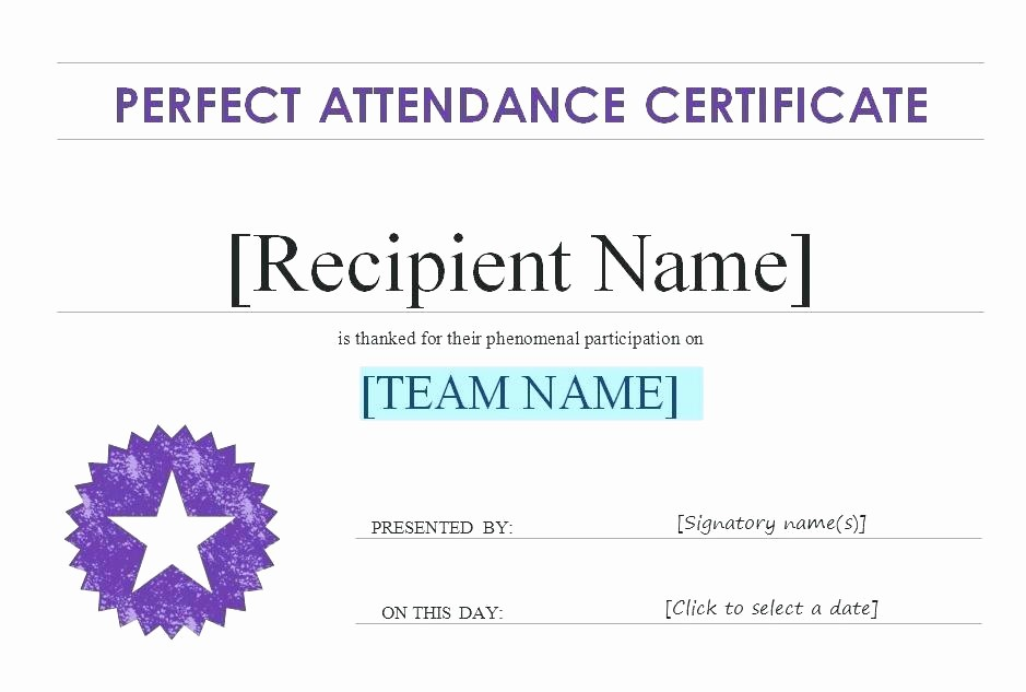 Free Printable Perfect attendance Certificates Awesome 30 Printable Employee the Month Certificates Template