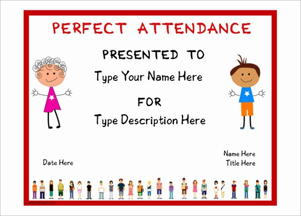 Free Printable Perfect attendance Certificates New 21 attendance Certificate Templates Doc Pdf Psd