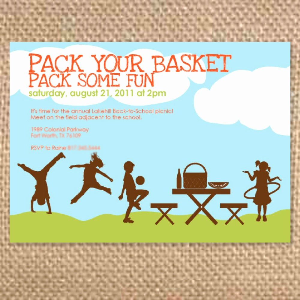 Free Printable Picnic Invitation Template Beautiful Pany Picnic Invitations Templates Free – Invitation
