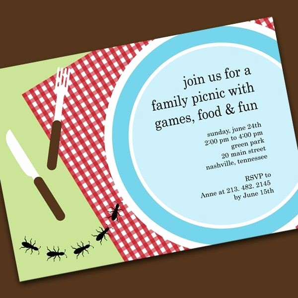Free Printable Picnic Invitation Template Beautiful Picnic Invitations Templates