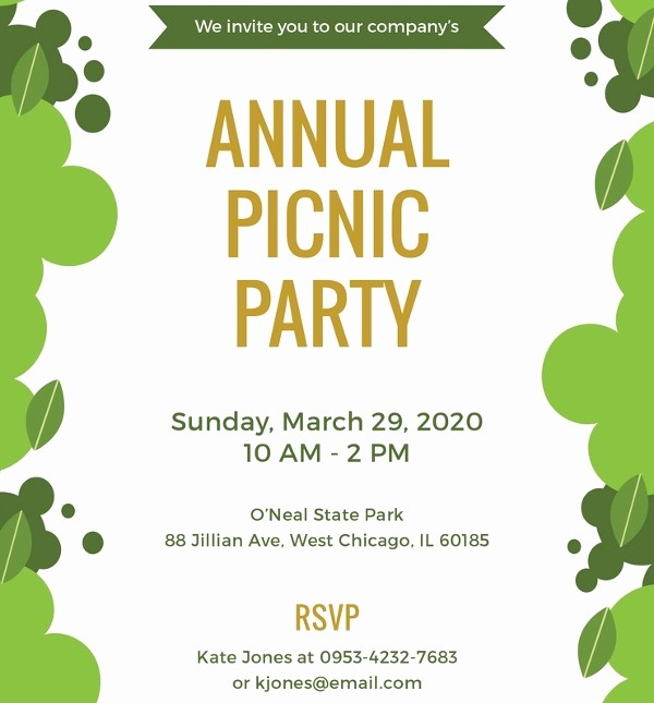 Free Printable Picnic Invitation Template Best Of Picnic Invitation Template – 20 Free Psd Vector Eps Ai