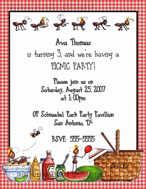 Free Printable Picnic Invitation Template Inspirational 25 Best Ideas About Picnic Invitations On Pinterest
