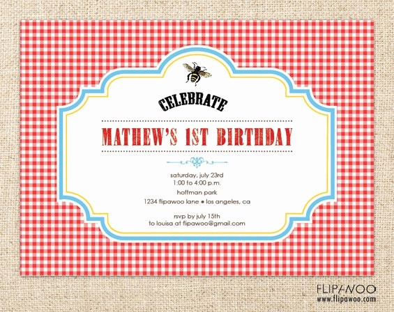 Free Printable Picnic Invitation Template New Free Printable Picnic Invitations Templates
