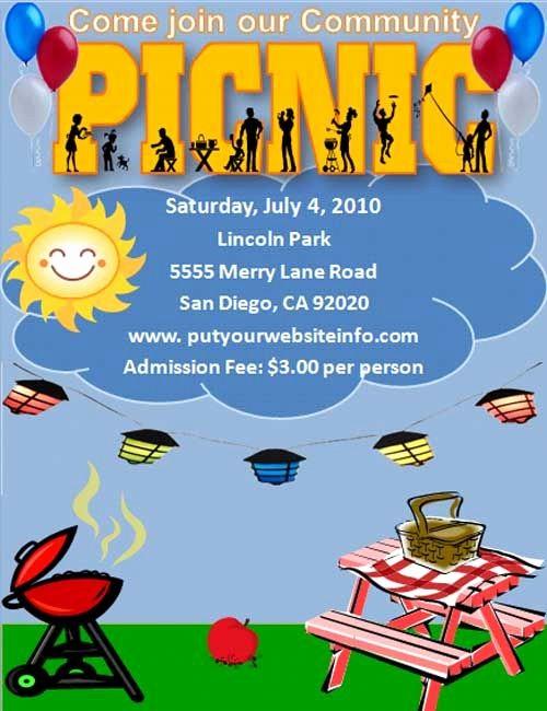 Free Printable Picnic Invitation Template Unique Free Template for A Picnic Invitation or Party I Used