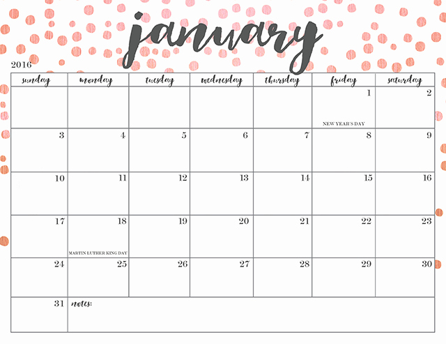 Free Printable Quarterly Calendar 2017 Best Of Free Printable 2016 Calendars Oh so Lovely Blog