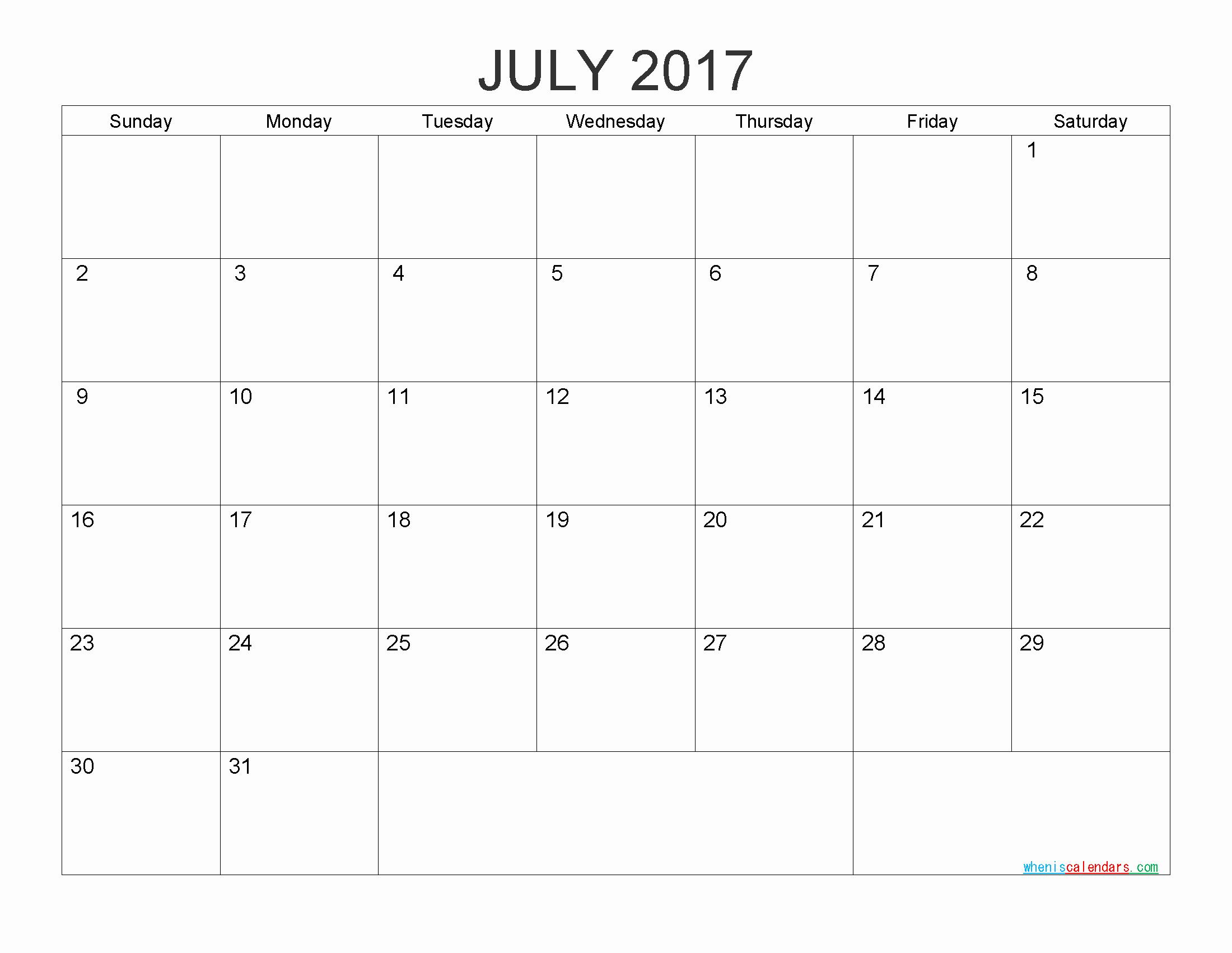 Free Printable Quarterly Calendar 2017 Unique Free Printable Calendar 2017 Monthly Calendar by Pdf