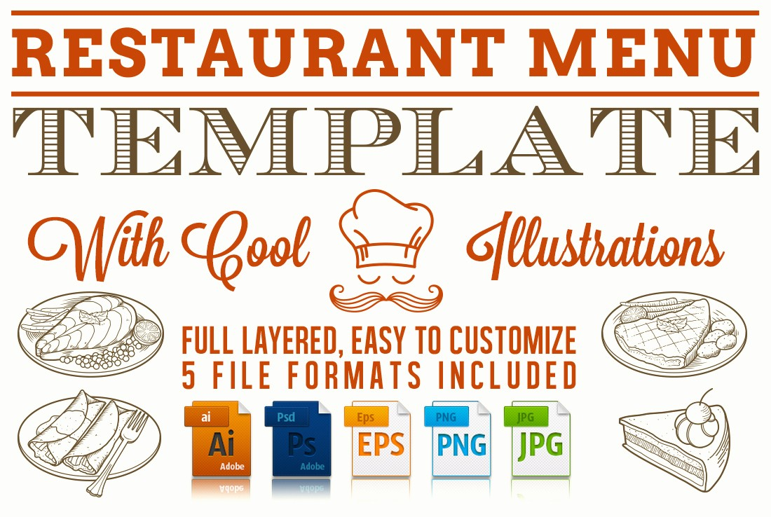 Free Printable Restaurant Menu Templates Beautiful Editable Restaurant Menu Template Stationery Templates