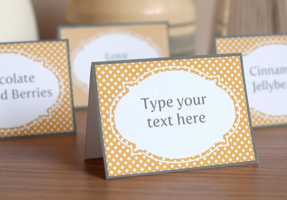 Free Printable Table Tent Cards Awesome 8 Best Of Blank Printable Candy Buffet Labels