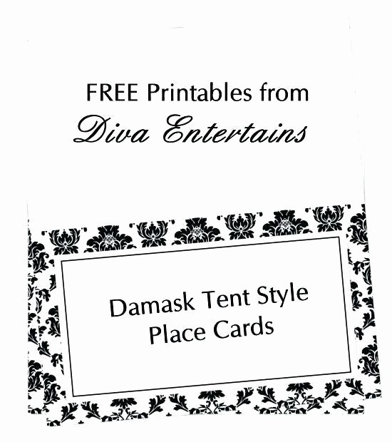 Free Printable Table Tent Cards Elegant Free Printable Table Tent Card Template