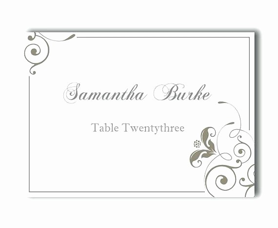 Free Printable Table Tent Cards New Tent Place Card Template Table Name – Spitznasfo