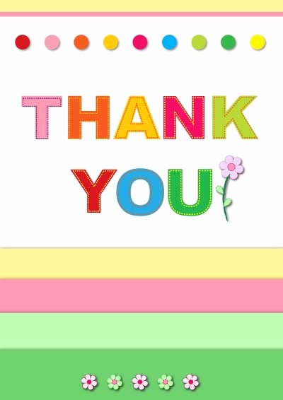 Free Printable Thank You Certificates Awesome Printable Thank You Cards