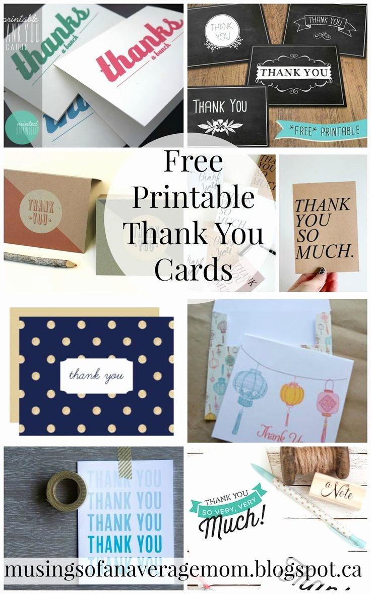 Free Printable Thank You Certificates Beautiful Best 25 Business Thank You Cards Ideas On Pinterest