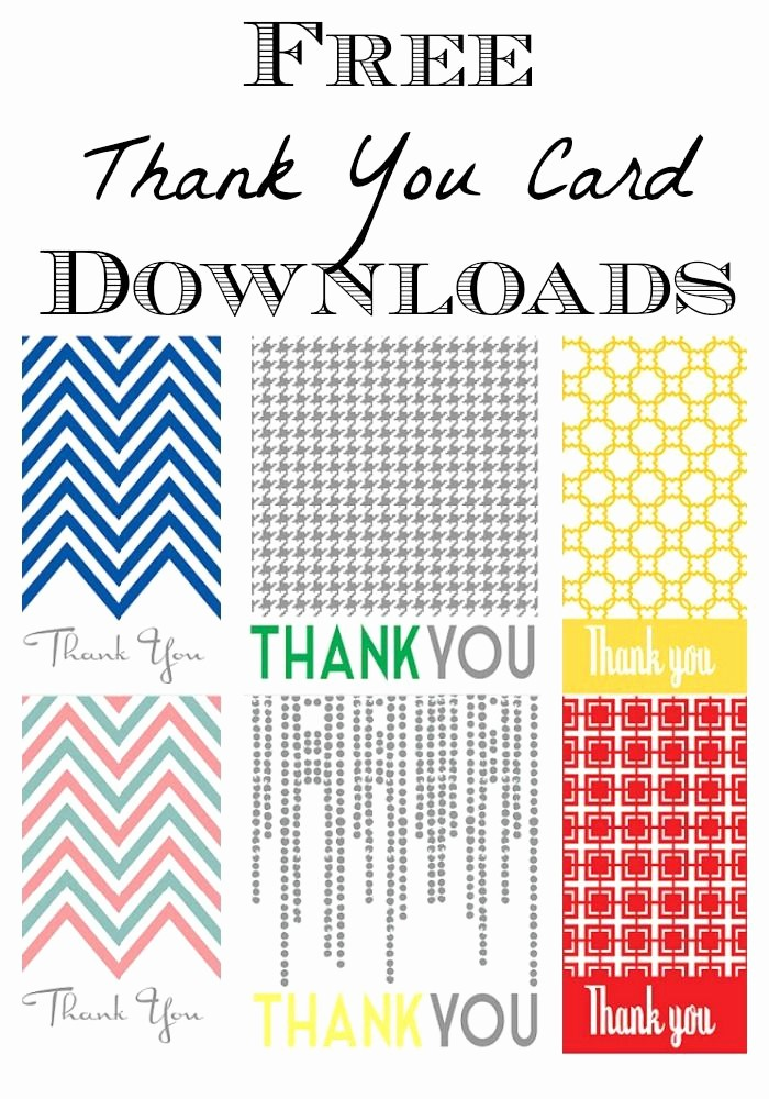 Free Printable Thank You Certificates Beautiful Best 25 Thank You Cards Free Ideas On Pinterest