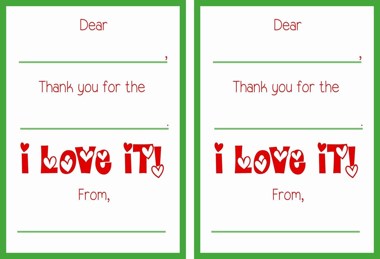 Free Printable Thank You Certificates Fresh Printable Christmas Thank You Cards