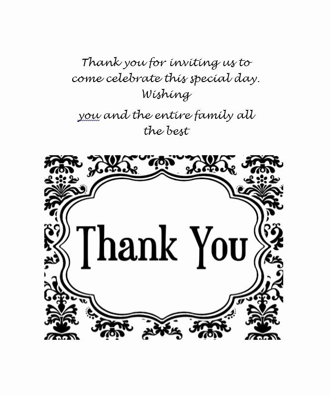 Free Printable Thank You Certificates Fresh Thank You Card Template Beepmunk