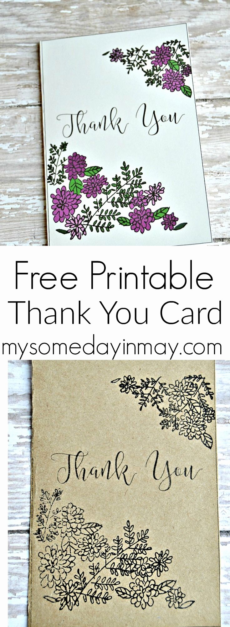 Free Printable Thank You Certificates Inspirational 34 Best Thank You Cards Images On Pinterest