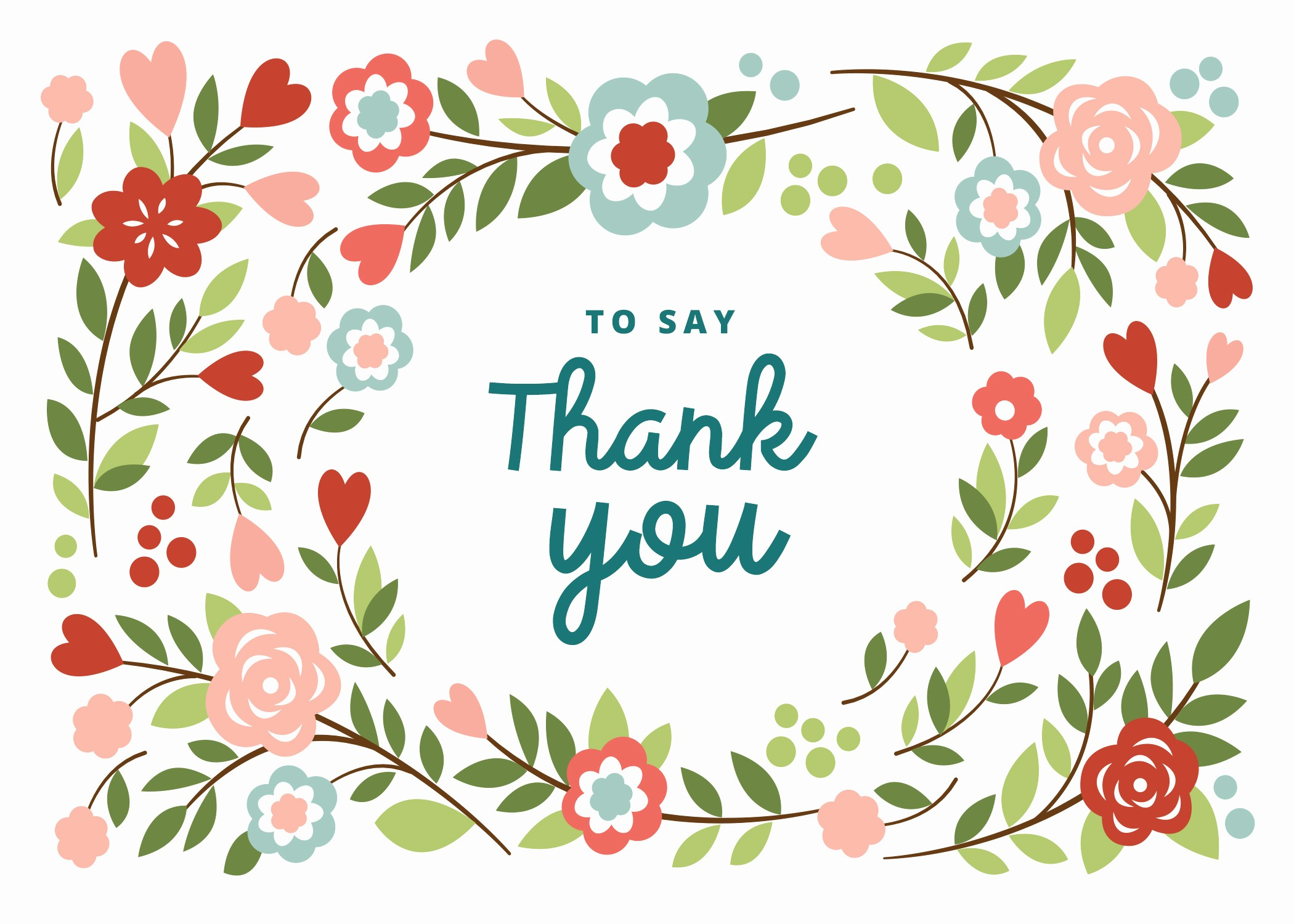 Free Printable Thank You Certificates Inspirational Bountiful Blooming Free Thank You Card Template