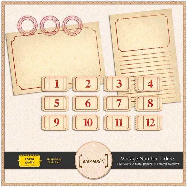 Free Printable Tickets with Numbers Lovely Free Printable Vintage Number Tickets and Paper