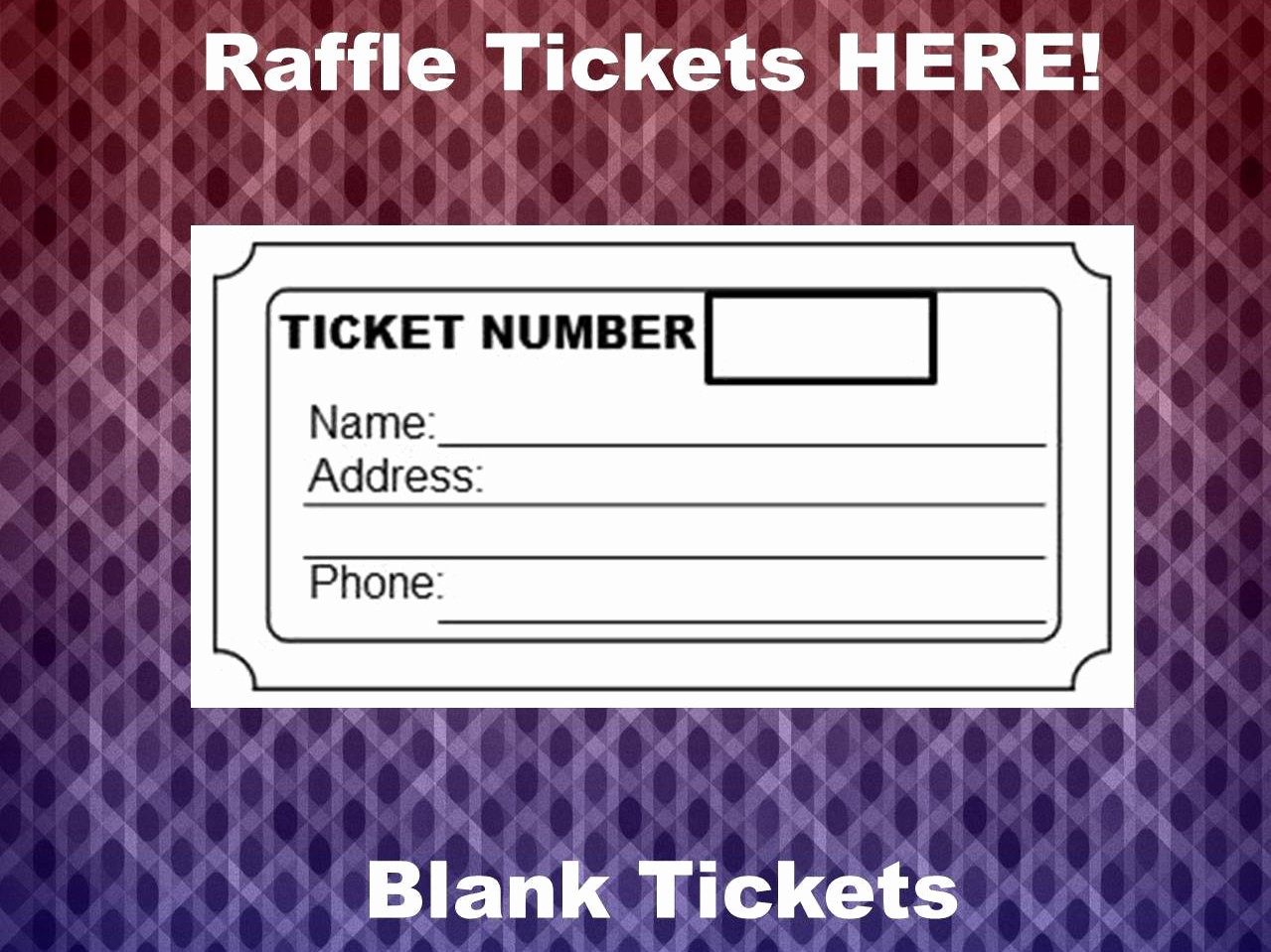 Free Printable Tickets with Numbers New Raffle Ticket Template 8 Blank Raffle Tickets Per Page Party