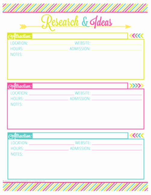 Free Printable Vacation Planner Template Beautiful Index Of Cdn 17 1999 764