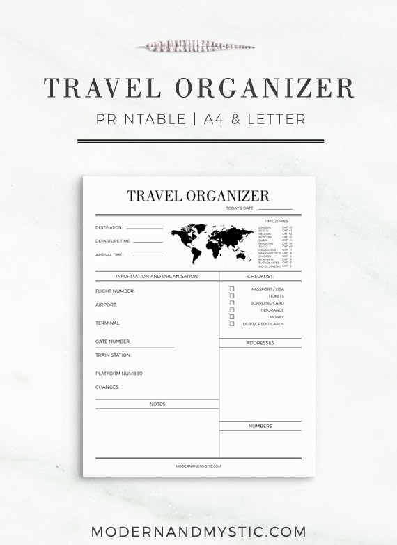 Free Printable Vacation Planner Template Best Of Printable Route Planner