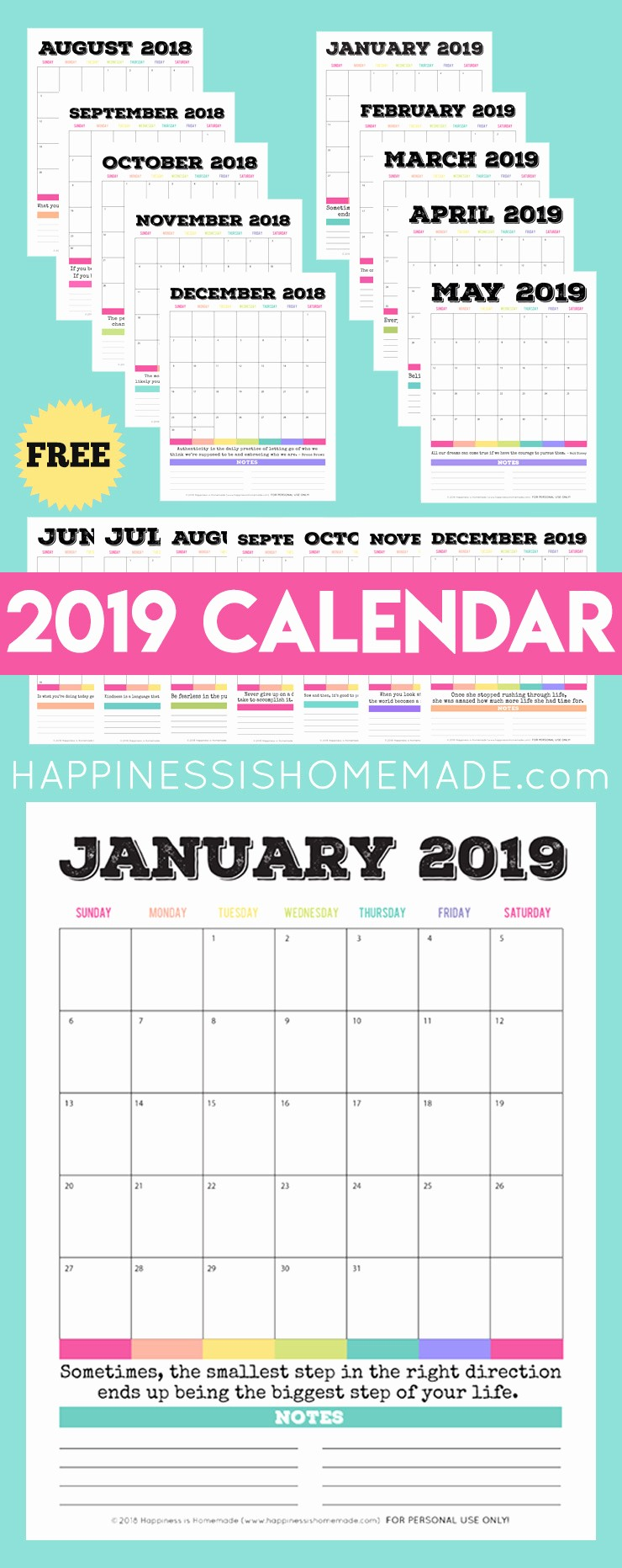 Free Printable Weekly Calendar 2019 Lovely 2019 Free Printable Calendar Printable Monthly Calendar