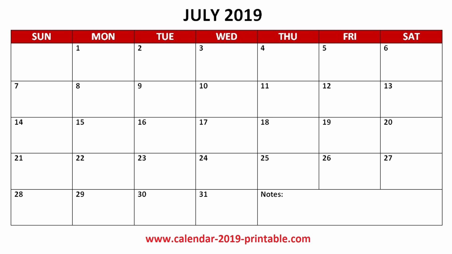 Free Printable Weekly Calendar 2019 New 2019 Pdf Calendar Monthly Printable