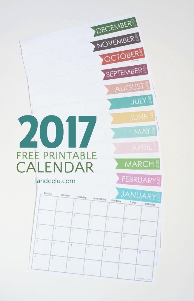 Free Printable Weekly Calendars 2017 Beautiful 25 Best Ideas About Free Printable Calendar On Pinterest