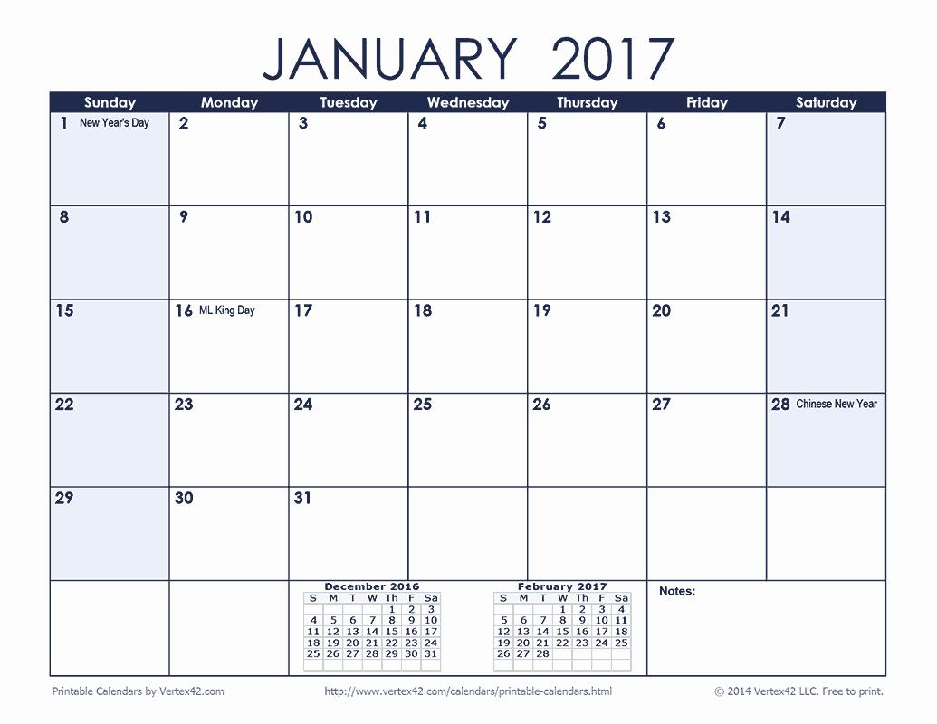 Free Printable Weekly Calendars 2017 New Free Printable Calendar Printable Monthly Calendars