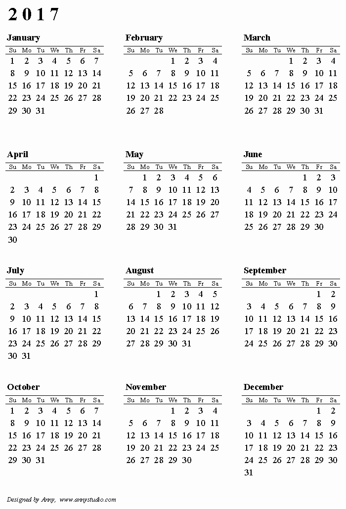 Free Printable Weekly Calendars 2017 Unique Free Printable Calendars and Planners 2019 2020 2021
