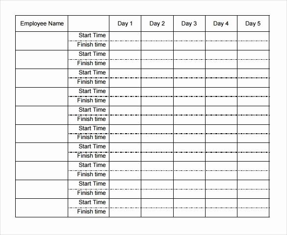 Free Printable Weekly Timesheet Template New 29 Free Timesheet Templates – Free Sample Example format